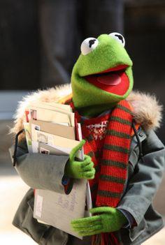 Kermit - student's life!