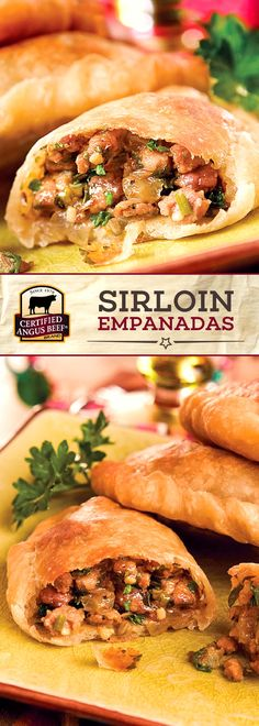 Shortcut beef empanadas recipe food recipes pinterest sirloin empanadas combines the best top sirloin or tri tip steak with a blend of delicious spices green chilies and onion for a tasty beef recipe forumfinder Choice Image