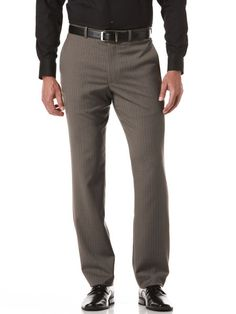 Beaded Stripe Slim Fit Portfolio Dress Pant