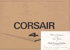 1966 Ford Corsair V4 Sales Brochure South Africa at Amazon's Entertainment Collectibles Store