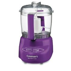 Cuisinart DLC-2A Mini Prep Plus Food Processors - my sister would love this. PURPLE!