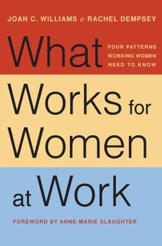 What works for women at work : four patterns working women need to know (650.13 WIL)