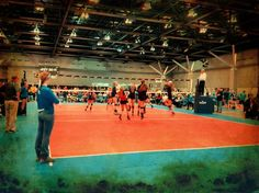 All Volleyball went down to the MEQ in St. Louis. Here's a little NKYVBC vs. SKY HIGH action!