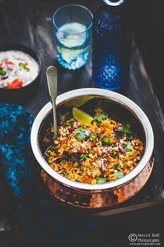 Punjabi Style Vegetable Biryani in easy steps. By Meeta K. Wolff