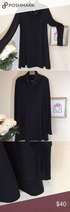 Lovely CAbi Cowl Neck Dress/Tunic I love this worn with black tights and boots! Excellent condition. CAbi Dresses