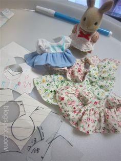 RainyBlues ~シルバニアファミリーの洋服屋さん: シルバニア(ハンドメイド)