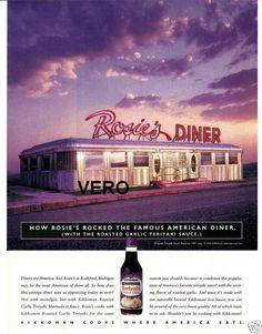 Ad for Rosie's Diner/Kikkoman  - 1998