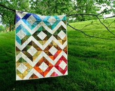 Diamond Fire Designer Quilt Pattern