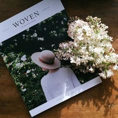 Afternoon sunshine and the most beautiful new magazine. @wovenmagazine will be for sale at the new Makelight Studio from Saturday and in our online store...coming very soon!