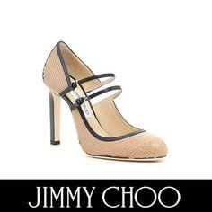 Jimmy Choo パンプス ジミーチュウ セール! MICHA 100 バイカラーが上品なパンプス
