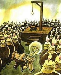 The Society Today - In a light-bulb moment, the Candles got a Bright Spark to pop the lights out off the Bulb.
