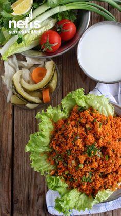 Turkish Recipes, Turkish Delight, Cobb Salad, Food And Drink, Appetizers, Pasta, Snacks, Kitchens, Bulgur