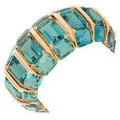 Tourmaline Bracelet C 1950s-1960's from 1stdibs