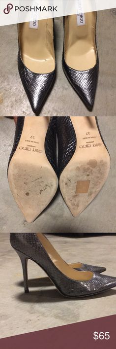 Jimmy choo Very much used but still in great condition Jimmy Choo Shoes Heels