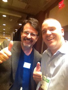 Jim Pagiamtzis and Mark Dietal at Millionaire MindExperience in Toronto on Nov 6-8 2015