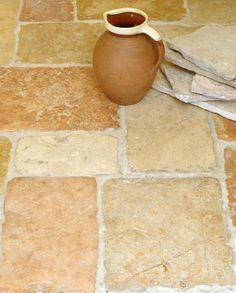 Reclaimed Jerusalem Flagstone Flooring, Limestone Flooring, Tiles Online, Underfloor Heating, Grey And Gold, Jerusalem
