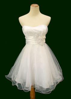 masquerade dresses   Masquerade $100 White Evening Party Cocktail Prom Dress NWT Avail Sz 3 ...