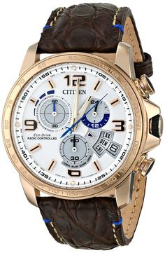 Gold watches for men Citizen