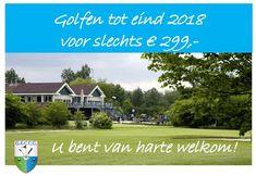 Golfclub Capelle U kunt tot eind 2018 golfen voor slechts € 299,-  als u lid wordt per 1 januari 2019 Golf, Wave, Polo Neck