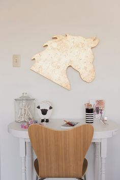 hello gold horse #charleighscookies #equestrianlife #equinedecor