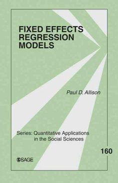 Fixed Effects Regression Models