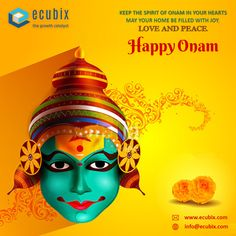May your life be as colourful as the colour of Onam. Value Chain Solutions India Pvt. wishing you lots of prosperity and good fortune. Onam Festival Kerala, Happy Onam Wishes, Supply Chain Solutions, Crop Protection, Business Advisor, Festival Celebration, Beautiful Nature Scenes, Industrial Revolution, Peace And Love