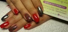 #gel_nails#mirror_effecr#handmade_nailart