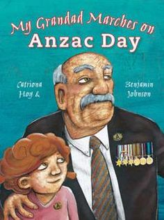 My Grandad Marches on Anzac Day. We have the kit for this with a big book. Excellent for stage one.