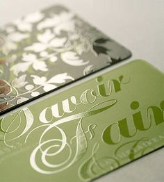Pinner said:  Rounded Corner Business Cards: 40 Modern Designs - You The Designer | You The Designer