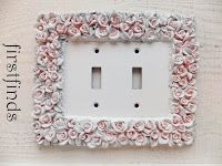 Shabby Chic Switch Plate