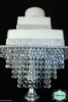 Cake Stand Chandelier StylePatent Pending by CakeDress on Etsy