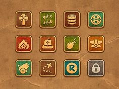 iPhone Game icons