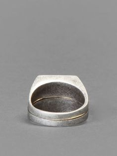 Maison Martin Margiela chevalier splitted ring @Maison Martin Margiela #maisonmartinmargiela #maisonmargiela #martinmargiela