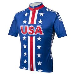 Skins Team USA Men's Cycling Jersey 3XL Red/White/Blue