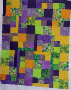 Beth's Blog: unusual baby quilt