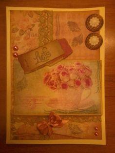 Vintage kaartje