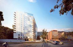 Richard Meier diseña edificio residencial en Bogotá, Colombia,Courtesy of Vitrum
