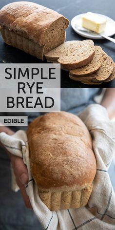 rye bread recipe easy / rye bread recipe & rye bread recipe machine & rye bread recipe easy & rye bread recipe homemade & rye bread recipe for bread machine & rye bread recipe sandwiches & rye bread recipe healthy & rye bread recipe appetizers Bread Machine Rye Bread Recipe, Rye Bread Recipes, Keto Bread, Bread Baking, Snack Recipes, Cooking Recipes, Keto Recipes, Yeast Free Rye Bread Recipe, Easy Dark Rye Bread Recipe