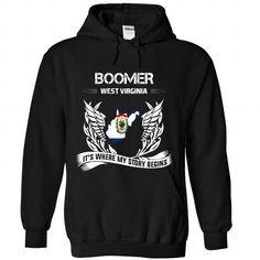BOOMER - Its where my story begins! - #cool t shirts #striped shirt. GET => https://www.sunfrog.com/No-Category/BOOMER--Its-where-my-story-begins-7514-Black-Hoodie.html?id=60505