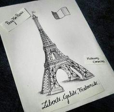 Eiffel tower ! Paris. Mallaury C.