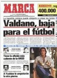 Una enfermedad aleja a Valdano del fútbol - MARCA.com