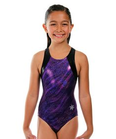 Look what I found on #zulily! Purple Savanna Leotard - Girls & Women #zulilyfinds