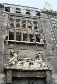 Hungaria Bath before the restoration #Budapest #wellness #spa