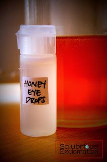 How to Cure Dry Eyes with Honey Eye Drops