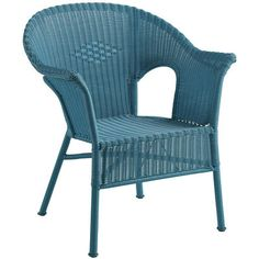 Casbah Stacking Chair - Ocean