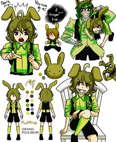 Fnaf My golden bunny (Plushtrap and you) - Nightmare . Freddy S, Pole Bear Fnaf, Five Nights At Freddy's, Life Is Strange, Strange Things, Fnaf Sister Location, Fnaf Characters, Freddy Fazbear, Fnaf Drawings