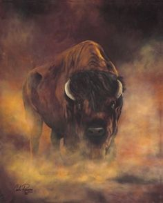 """Legend of the Bison"" by Carla Romero"