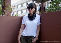 {DIY} Roarke Inspired Sequin Scarf Necklace