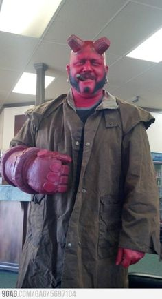 Get the hell out of the house this Halloween and produce some Hellboy action (pun intended)