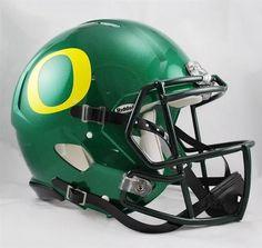 University of Oregon Ducks Full Size Riddell Speed Football Helmet